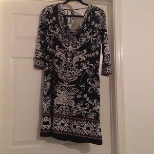 Whit house Black market dress sz L